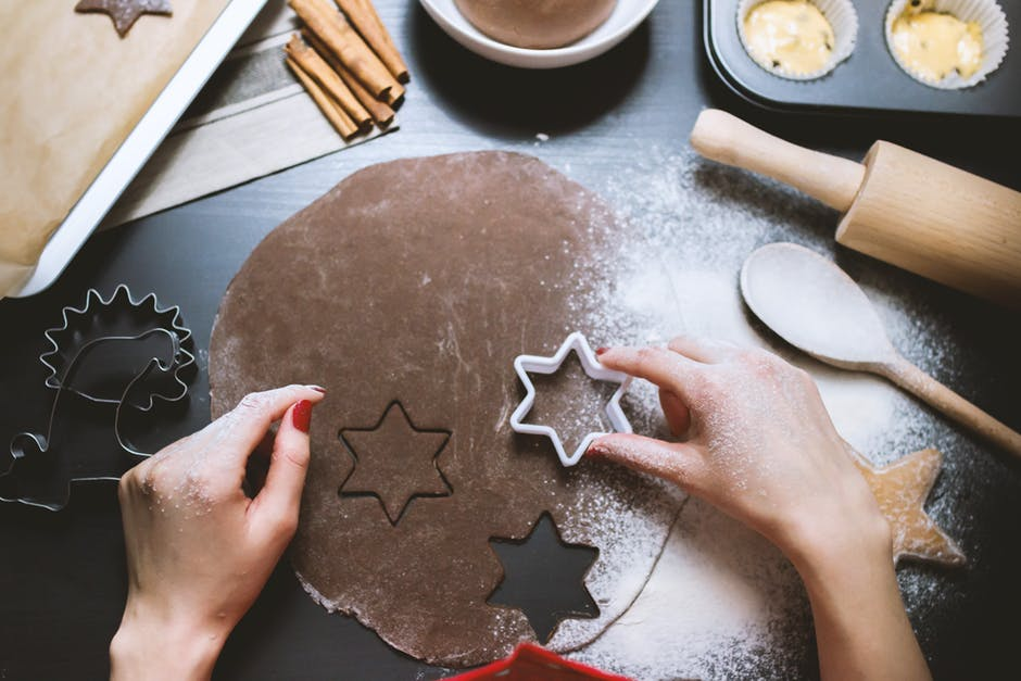 specjalne foremki do robienia ciastek